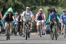 Bike More Challenge; photo by Ron Medvescek/Arizona Daily Star