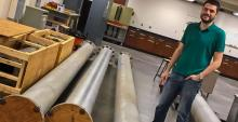 Alex Craig is one among a power trio of UA aerospace engineers to win Navy grants in spring 2017 for hypersonic research.