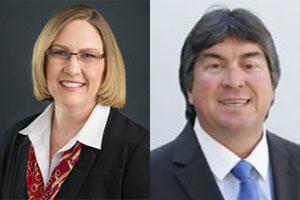 Sara McCoy and Anthony Mulligan