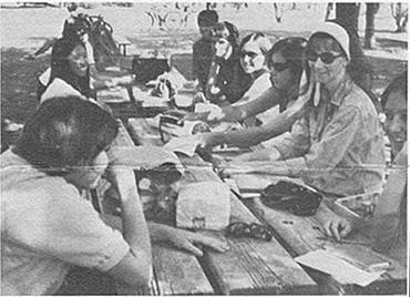Beta Rho Delta's informal rush at Himmel Park on Sunday, Oct. 4, 1967.