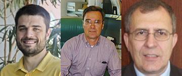 Professors Stuart A. Craig, Hermann Fasel and Antoli Tumin